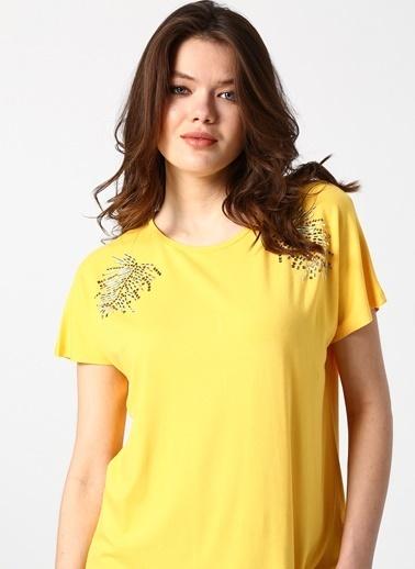 House Of Camellia Tişört Sarı